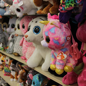 Ty Plush in all Sizes and Shapes. We also carry Beanie Babies ... 6ef47a3e631