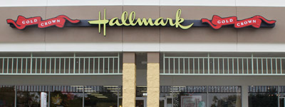 Ryan's Hallmark Shop storefront Hunter's Creek Orlando Florida