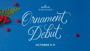 Ornament Debut October 3 - 11